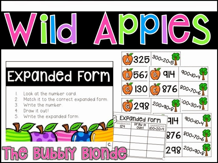 http://www.teacherspayteachers.com/Product/Wild-Apples-Place-Value-Centers-1461150