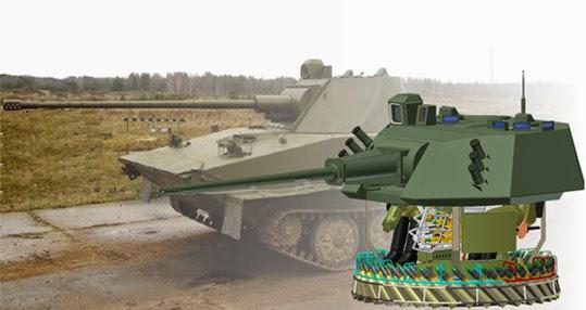 Warfare Technology 57mm Autocannon Turret From Russia