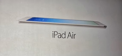 Un adelanto de la iPad Air
