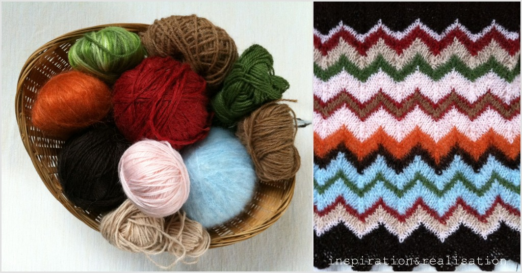 Crochet Tutorial Zigzag : zig-zag: the Missoni signature stitch