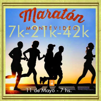 Maratón de Montevideo 2014 (42k, 21k y 7k; dom 11/may/2014)