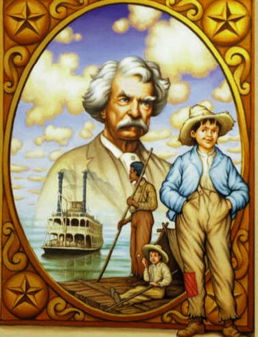 a comparison between the personalities of two characters by mark twain huckleberry finn and tom sawy