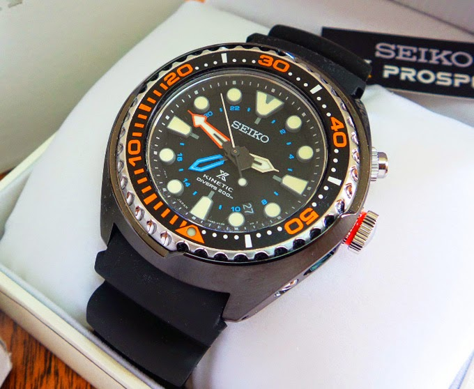 RM1750: Seiko GMT diver (NIB)