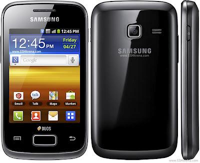 Harga dan Spesifikasi Samsung Galaxy Y