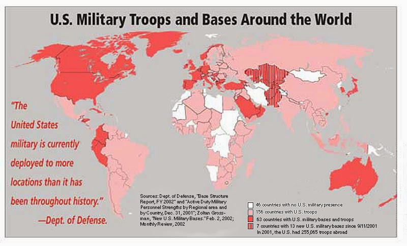 NO REST FOR THE AWAKE MINAGAHET CHAMORRO Americas Empire - World's most powerful military countries 2015