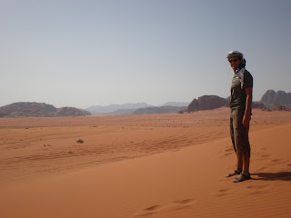 Desierto de Wadi Rum - Jordania