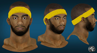 NBA 2K13 Corey Brewer Cyberface Patch