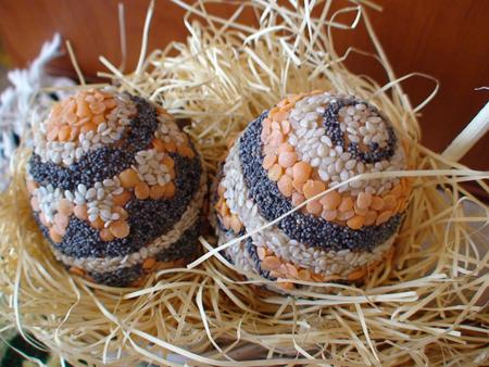 Яйца със семена за Великден