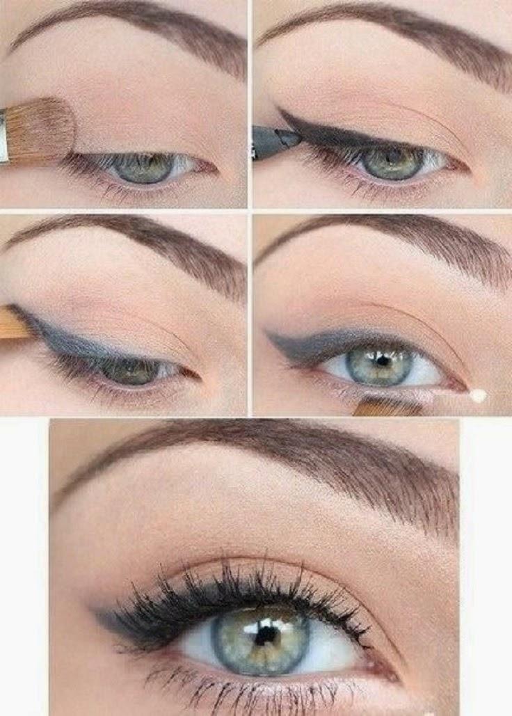 Как сделать самый простой макияж глаз