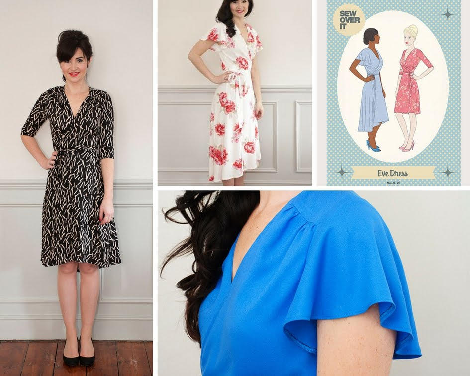 Sew Over It Eve Dress | the petite passions