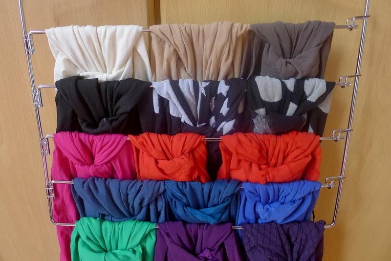 le rose et le noir astuce de rangement pour vos collants. Black Bedroom Furniture Sets. Home Design Ideas