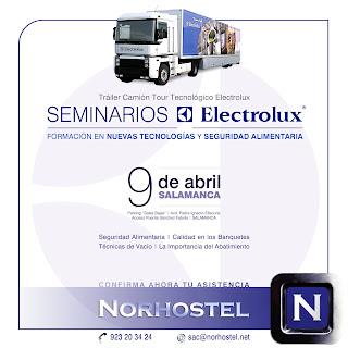NORHOSTEL Anuncio Seminario Electrolux