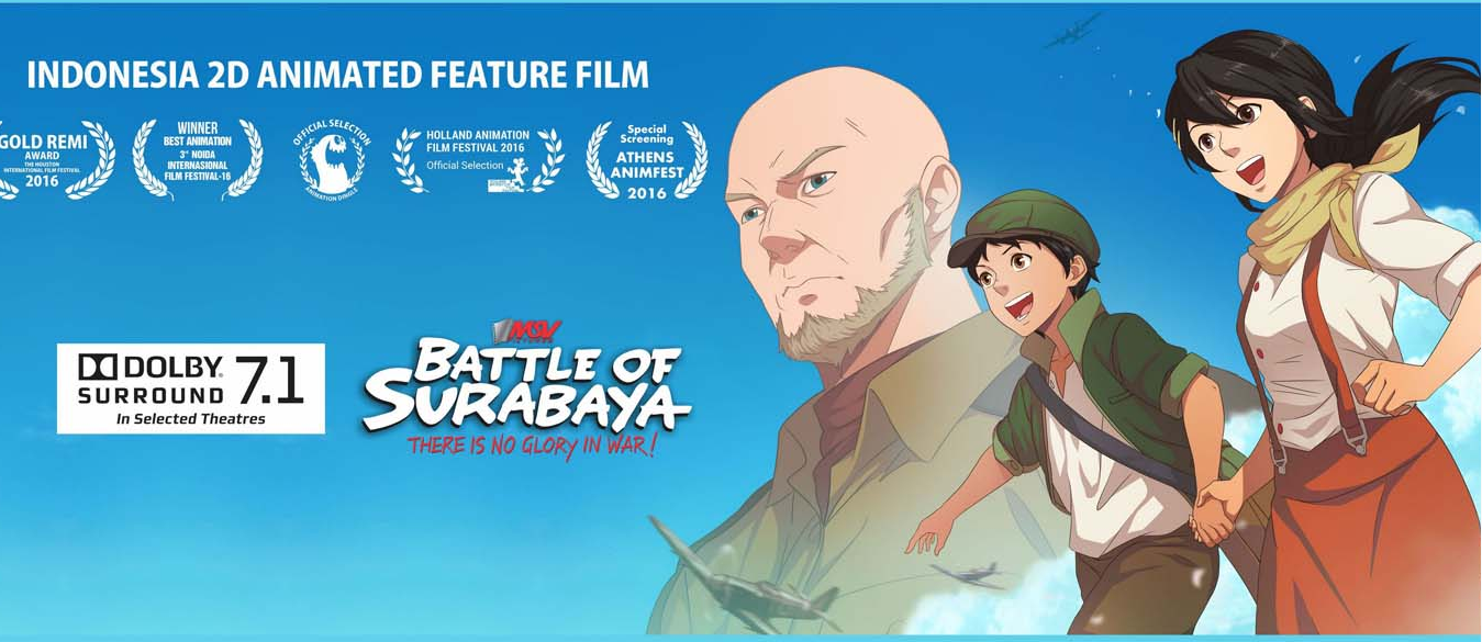 Tulisan Kachau Battle Surabaya Animasi Indonesia Tak Sesuai Film 2d