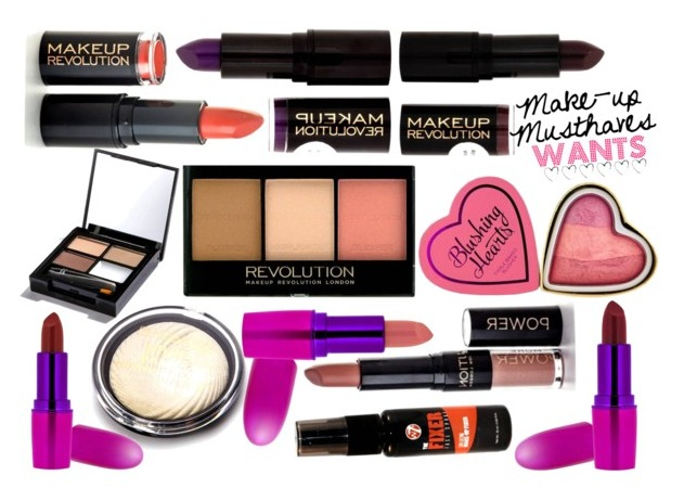 MakeUpMusthaves.nl Makeup Wishlist