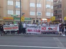 Manifestación Antitaurina en Murcia (20-2-2011)