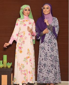 Koleksi Gamis Murah Meriah Trend Lebaran Idul Fithri 2013