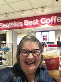 2019 Seattle's Best Coffee, Camel Iced Chai, Salt Lake City, Utah