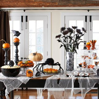 Halloween Decoration Ideas on 25 Halloween Decoration And Display Ideas