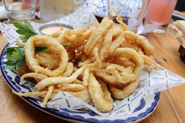 Calamari Fritti - Pritong Calamares Filipino Recipe
