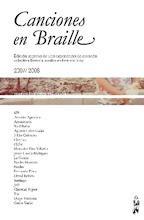 Canciones en Braile, lulú.com, 2009