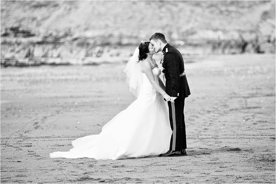 beach wedding photography cornwall
