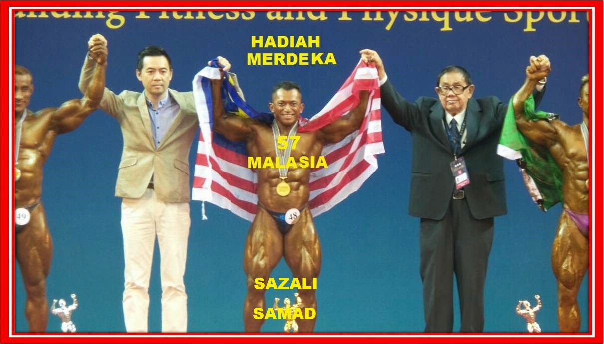 MR ASIA kali ke 9. Hadian UNTUK MU MALAYSIA 'MERDEKA 57' dari SAZALI SAMAD