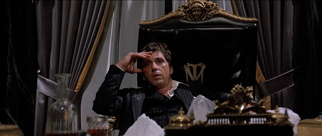 tony montana in the movie scarface