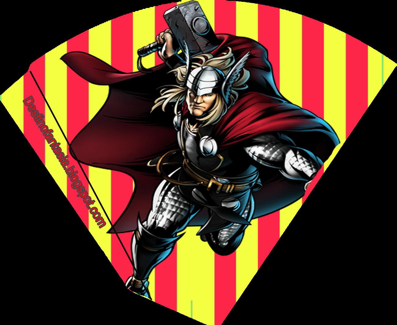 rotulos e embalagens festa Thor os vingadores