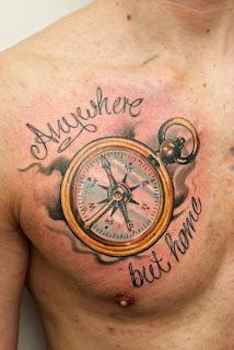 kompass tattoo alles ber kompass tattoos. Black Bedroom Furniture Sets. Home Design Ideas