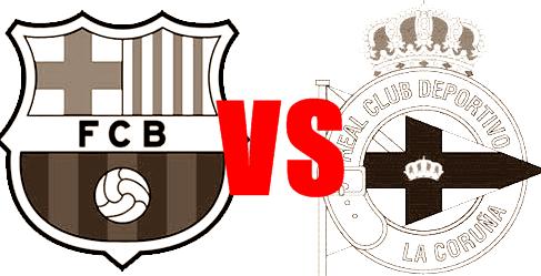 Barcelona 2 - 2 Deportivo La Coruna