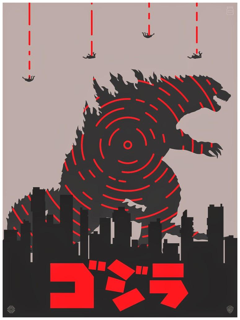 Godzilla 2014 Sequel Poster