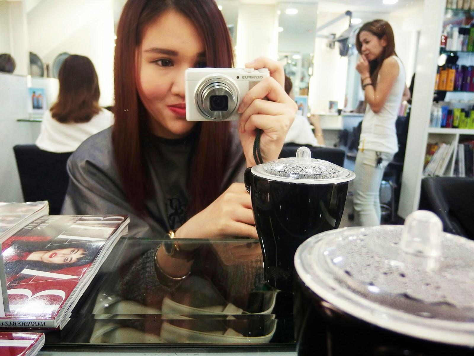 H O N E Y F L O W E R R Hair Journey Part One Korean Perm - The look hair salon