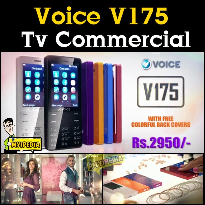 Voice v175 TVC 2014 The Fashion Phone