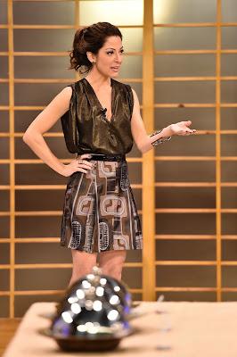 A apresentadora Ana Paula Padrão provou os três pratos durante suas viagens pelo mundo - Divulgação/Band