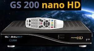 ATUALIZAÇÃO GLOBALSAT GS200 NANO HD – V169 – 15/10/2014