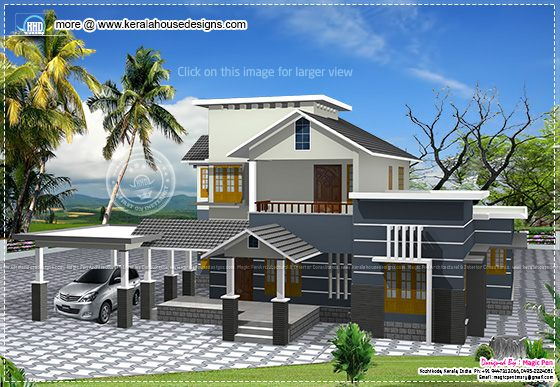 Double storey residence