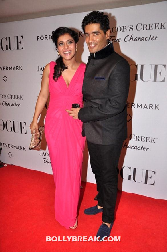 Kajol, Manish Malhotra - Celebs at Vogue's 5th anniversary celebrations