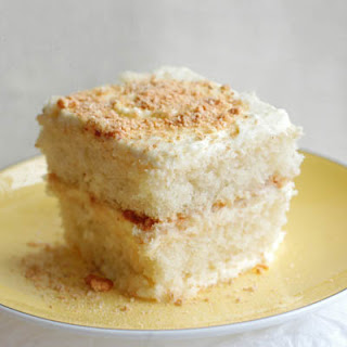 Lemon sponge cake Semifreddo