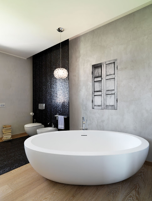Bathroom Wallpaper  Badkamer Behang