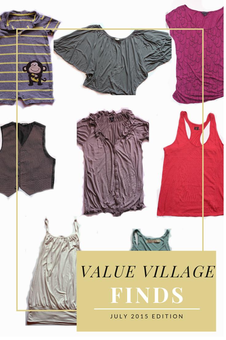 value village fashion finds
