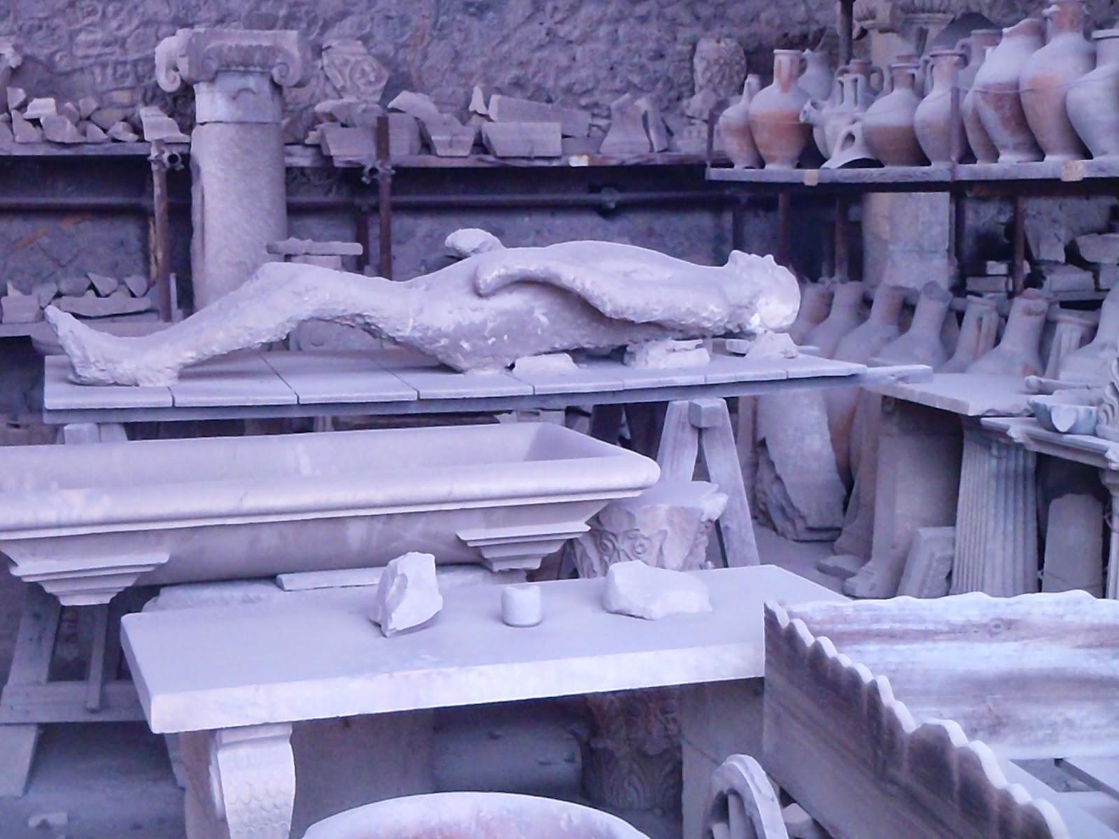 pompeii bodies