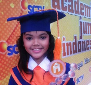 kirana Juara La Academia Junior indonesia SCTV