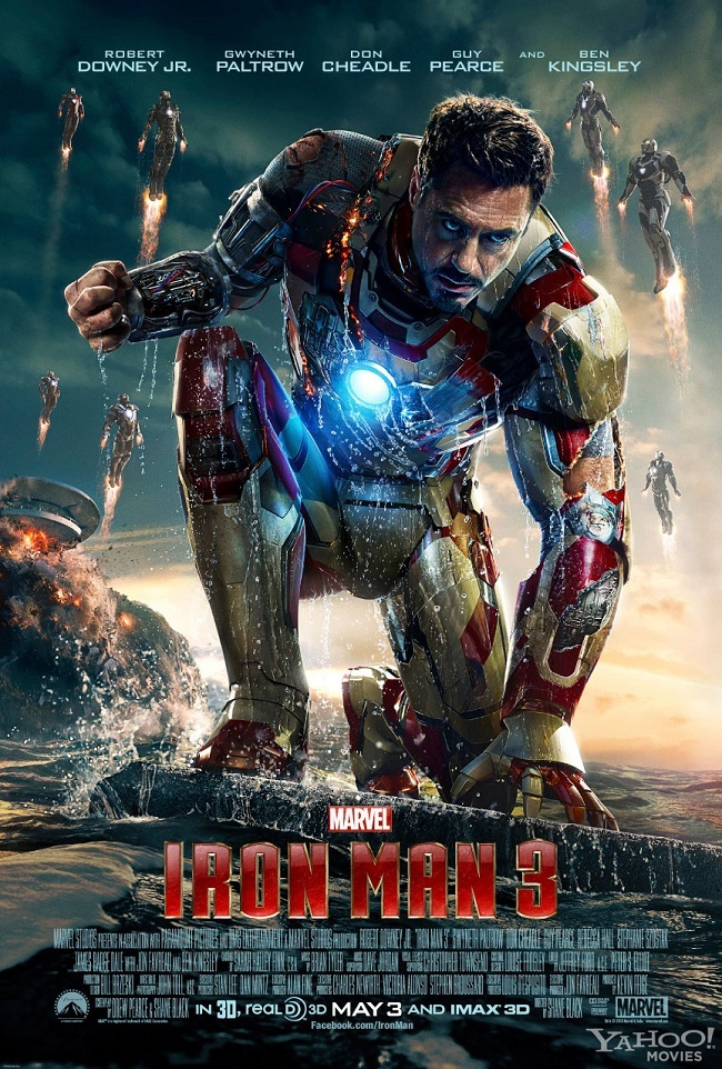 Iron Man 3 (2013) 720p HDTV 775 MB Full Movie watch online download