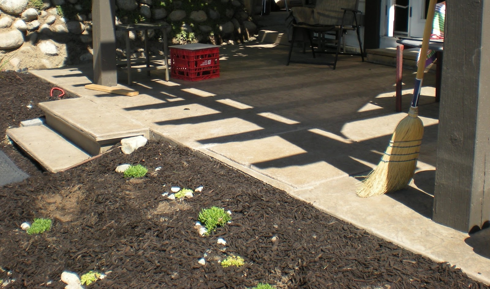 Mode concrete concrete patios stairs slabs driveways - How to tile concrete stairs ...