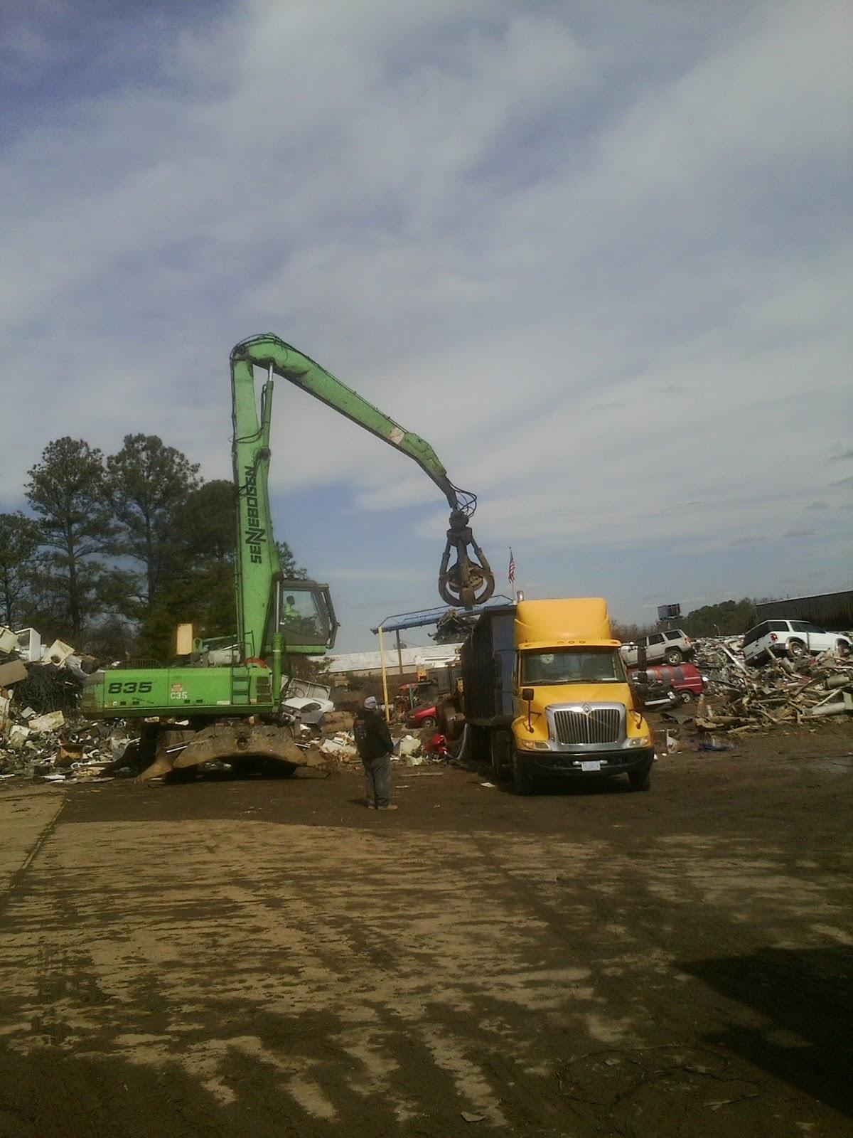Scrap Metal Goldsboro, NC, Junk Cars, Salvage, Yard, Recycling ...