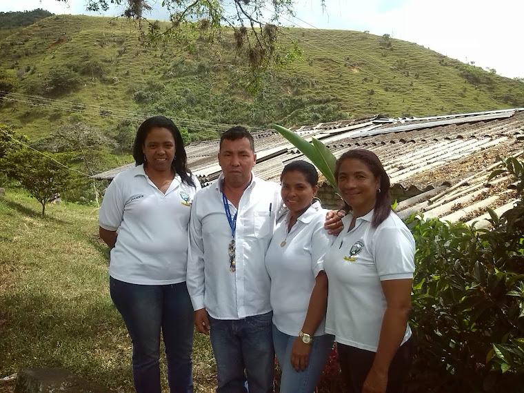 Institucion  Educativa GENERAL SANTANDER. Sede General Santader Puente Rojo. Municipio de GUACARI