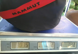 Mammut Lodge Tent Weight - 1815 grams