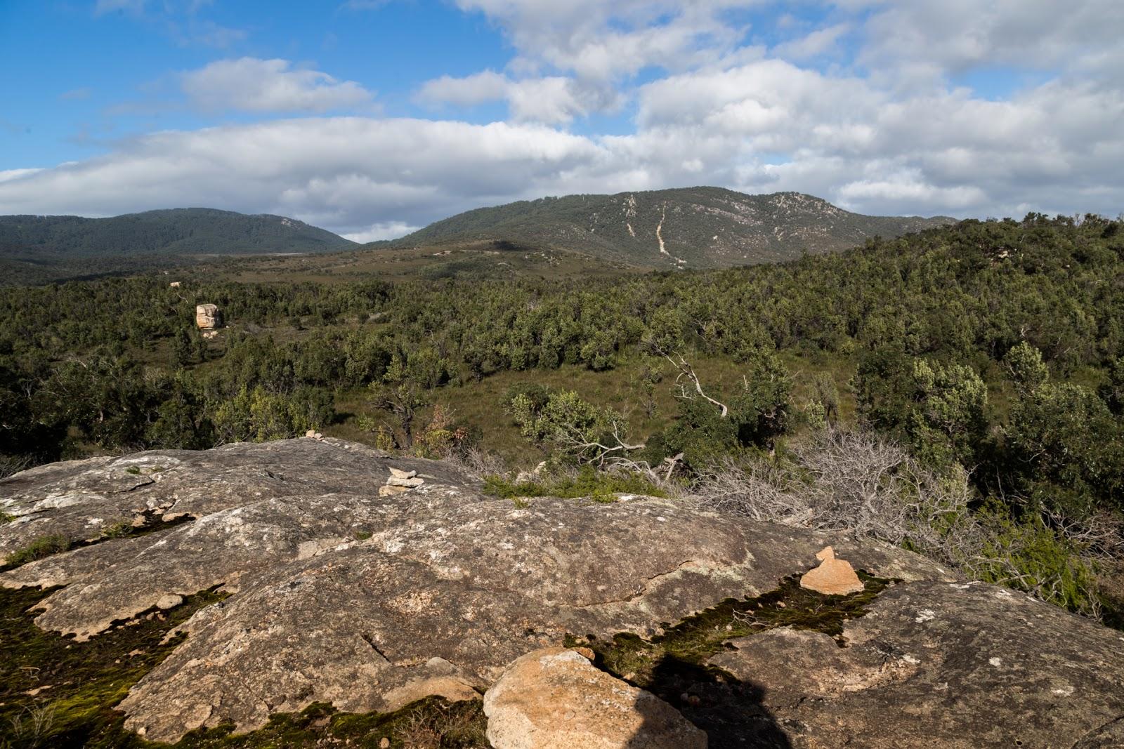 granite rocks wilsons promontory