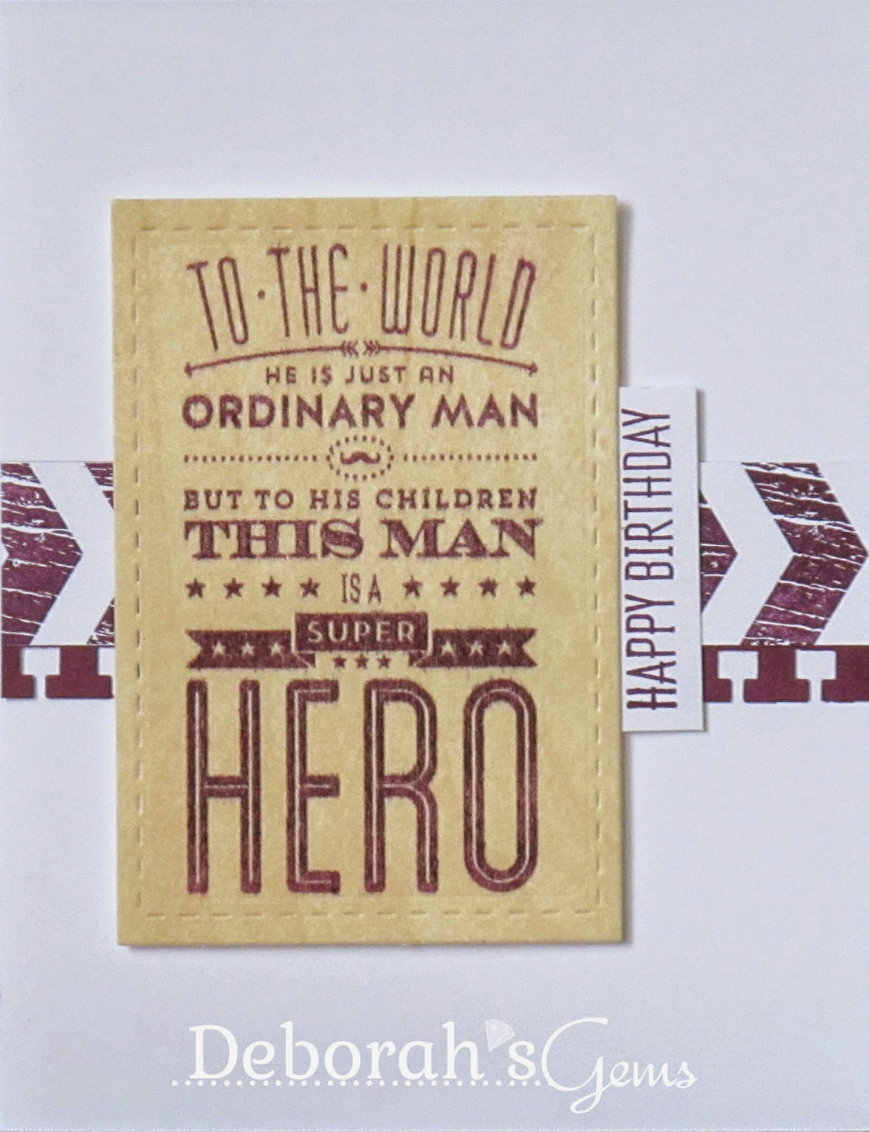 Super Hero - photo by Deborah Frings - Deborah's Gems