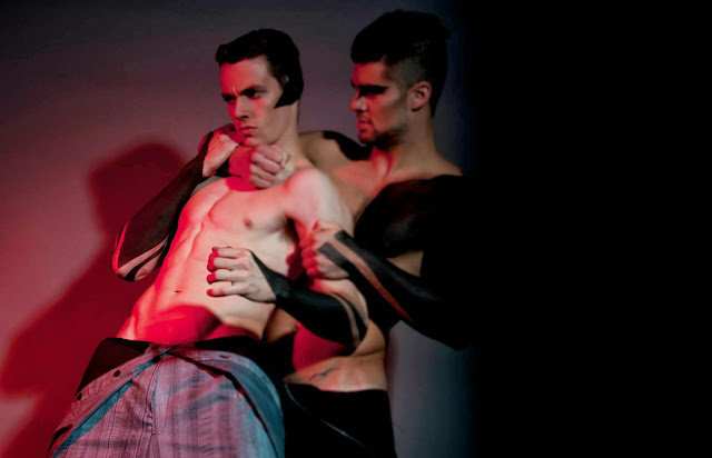 MARIANO LUIS, AGUSTIN DANTUAN & SEBASTIAN COLT PHOTOGRAPHED BY JAVIER FLORES LEYES FOR INBOGA MAGAZINE